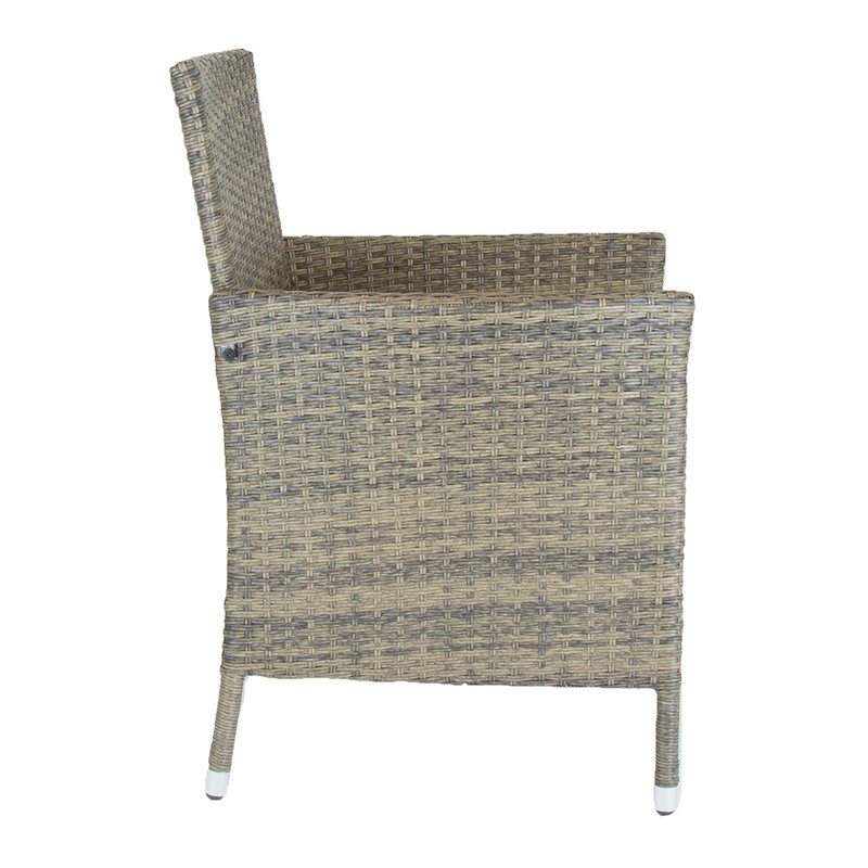 Buy Verona Pair Of Rattan Dining Chairs Garden Furniture