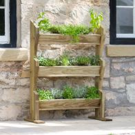 See more information about the Verticle Herb Stand Garden Planter
