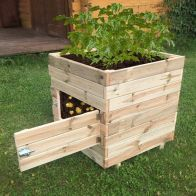 See more information about the Square Potato Garden Planter