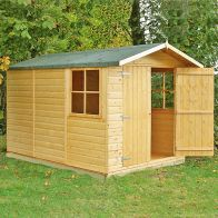 See more information about the Shire Guernsey Shiplap Garden Shed 7' x 10'