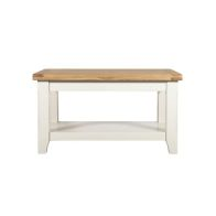 See more information about the Harmony White Small 1 Shelf Coffee Table