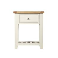 See more information about the Harmony White 1 Drawer Console Table