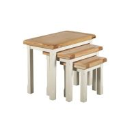 See more information about the Harmony Trio Nest of Tables Oak & White