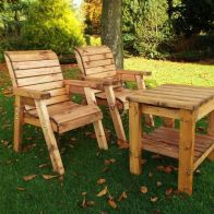See more information about the 2 Seat Deluxe Companion Seat Scandinavian Redwood Garden