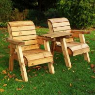 See more information about the Little Fellas 2 Seat Straight Redwood Kids Twin Companion Garden Seat