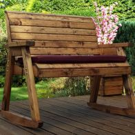 See more information about the Charles Taylor 2 Seat Rocker Garden Bench