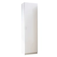 See more information about the High Gloss Shoe Storage White 1 Door 180cm