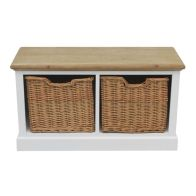 See more information about the Padstow Coffee Table White 2 Drawer