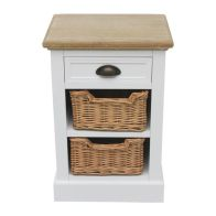 See more information about the Padstow Lamp Table White 3 Drawer
