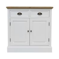 See more information about the Padstow Sideboard White 2 Door 2 Drawer