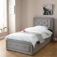 See more information about the Hollywood Single Ottoman Bed Grey