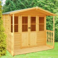 See more information about the Shire Houghton Garden Summerhouse (7' x 7')