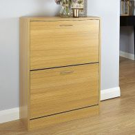 See more information about the Humphrey Shoe Storage 2 Door Oak Style
