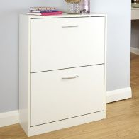 See more information about the Humphrey White Two Tier Shoe Storage Cabinet