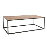 See more information about the Industrial Chic Oak & Steel Large Coffee Table