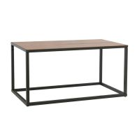See more information about the Industrial Chic Oak & Steel Small Coffee Table