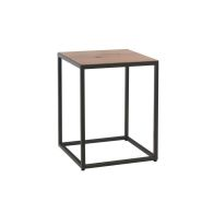 See more information about the Industrial Chic Oak & Steel Side Table