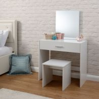 See more information about the Julia White Dressing Table & Stool Set