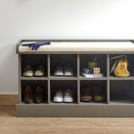 See more information about the Kempton Shoe Storage Grey 8 Shelf