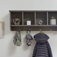 See more information about the Kempton Grey Melamine Finish 8 Hook Wall Rack