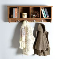 See more information about the Kempton Wall Rack 4 Shelf Walnut Style
