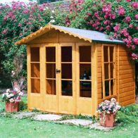 See more information about the Shire Kensington Garden Summerhouse (7' x 7')