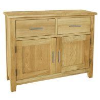 See more information about the Kansas Oak 2 Door 2 Drawer Sideboard