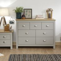 See more information about the Lancaster Merchants 7 Drawer Chest - Grey