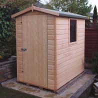 See more information about the Shire Lewis Shiplap Garden Shed 4' x 6'