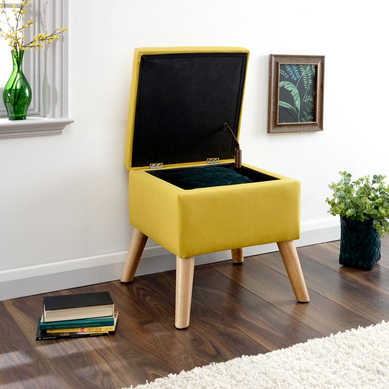 Amazing Buy Alexandra Storage Ottoman Yellow Square Online At Spiritservingveterans Wood Chair Design Ideas Spiritservingveteransorg