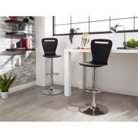 See more information about the Long Island Pair Of Barstools Black