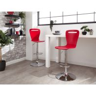 See more information about the Long Island Pair Of Barstools Red
