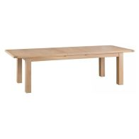 See more information about the Monica Oak 2.4m - 2.9m Extending Dining Table