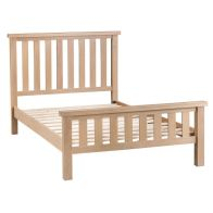 See more information about the Monica Oak 4ft 6in Double Bed Frame