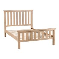 See more information about the Oak Bed Frame Natural Lime-Washed Oak with Dovetailed Joints