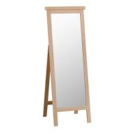 See more information about the Monica Oak Cheval Mirror