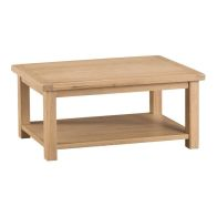 See more information about the Oak Coffee Table Natural Lime-Washed Oak with Dovetailed Joints