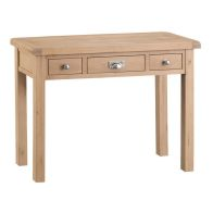 See more information about the Monica Oak 3 Drawer Dressing Table