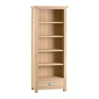 See more information about the Oak Bookcase Natural Lime-Washed Oak with Dovetailed Joints