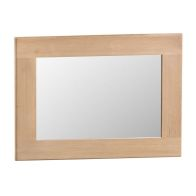 See more information about the Monica Wall Mirror Oak Small
