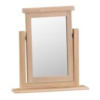 See more information about the Oak Mirror Natural Lime-Washed Oak with Dovetailed Joints