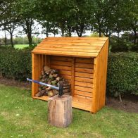 See more information about the Shire Shiplap Log Storage Unit (5' x 2')