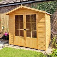 See more information about the Shire Lumley Garden Summerhouse (7' x 5')