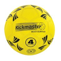 See more information about the Kickmaster Multi Surface Size 4 Football Yellow