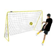 See more information about the Kickmaster Premier 10ft Goal & Netting Yellow Frame