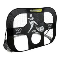 See more information about the Kickmaster Quick Up Large Goal & Target Shot Black