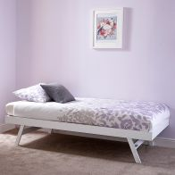 See more information about the Madrid Single Trundle Bed White