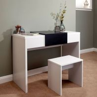 See more information about the Marlow Dressing Table White 1 Door
