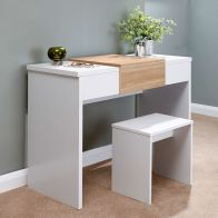 See more information about the Budget Dressing Table White 1 Door