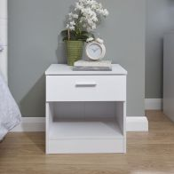 See more information about the Melbourne Bedside - White & White